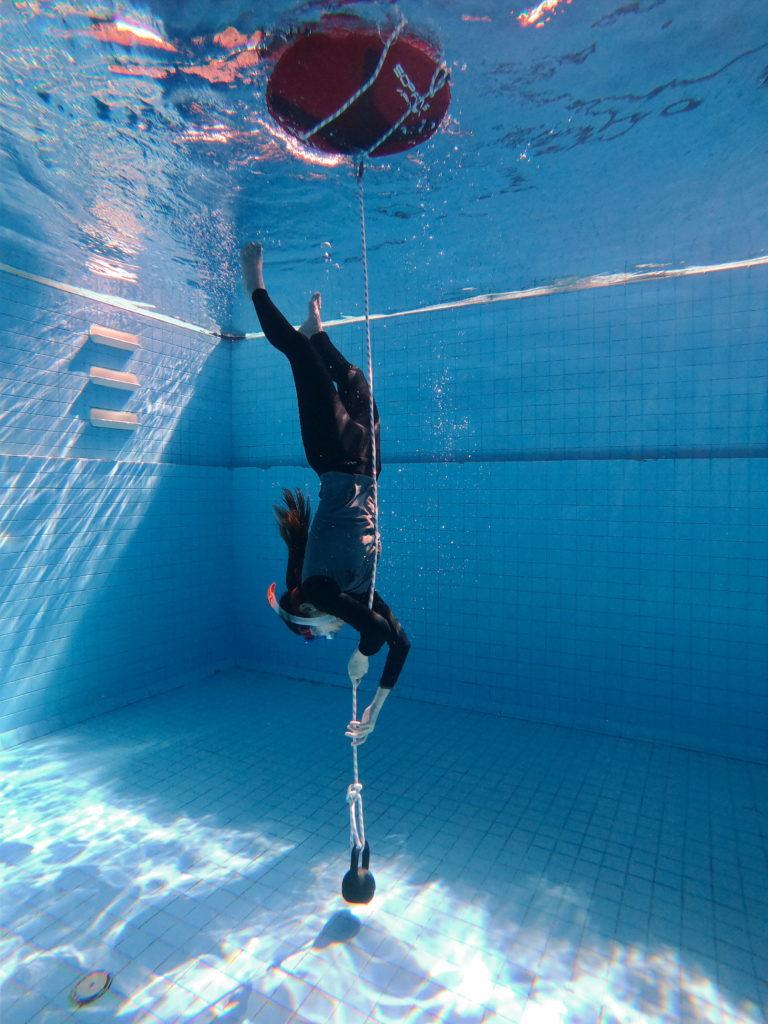 SSI Pool freediving