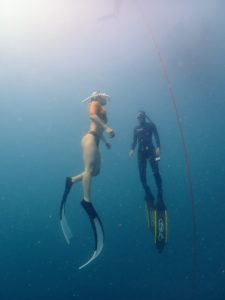 เรียน freediving level1